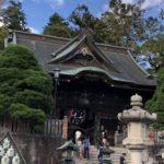 成田山新勝寺 仁王門、創建1830年、江戸時代